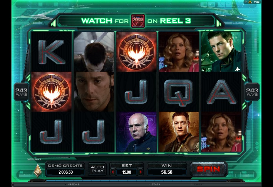 Practice The Battlestar Galactica Free Slot With No Registration