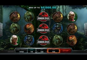 jurassic-park-slot-gameplay