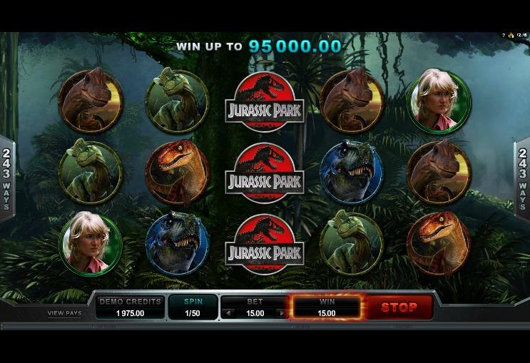 jurassic-park-slot-gameplay