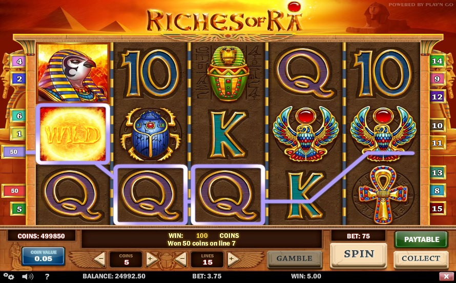 riches-of-ra-gameplay