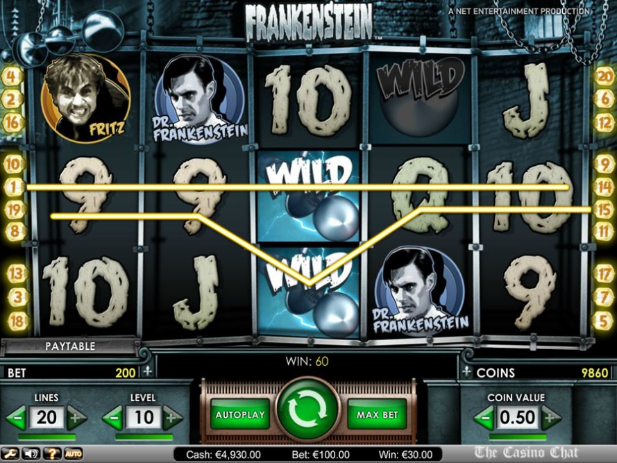 Frankenstein NetEnt Online Slot for Real Money - Rizk Casino