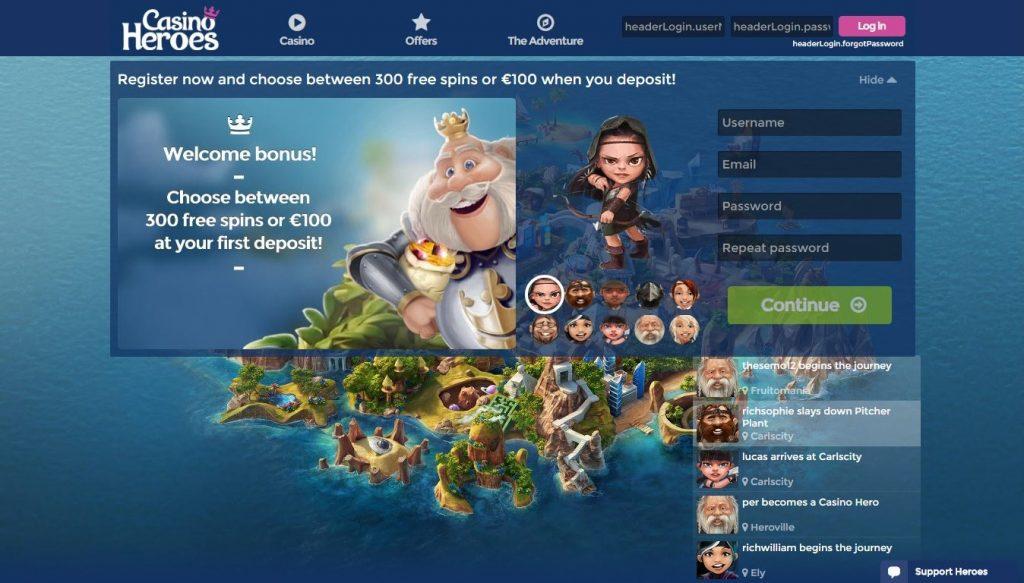 casino-heroes-homepage