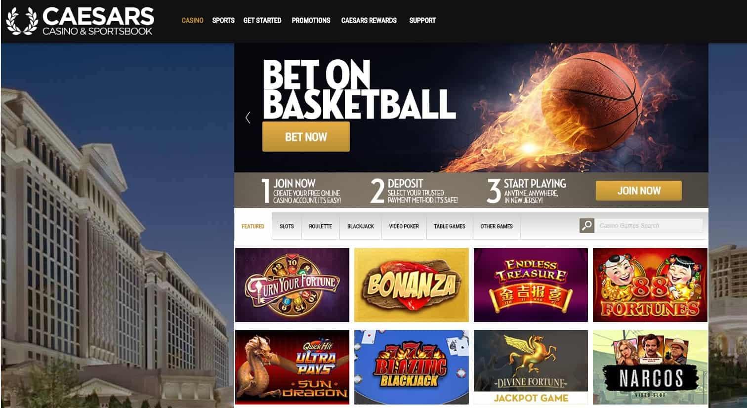 Caesars Casino Online Games