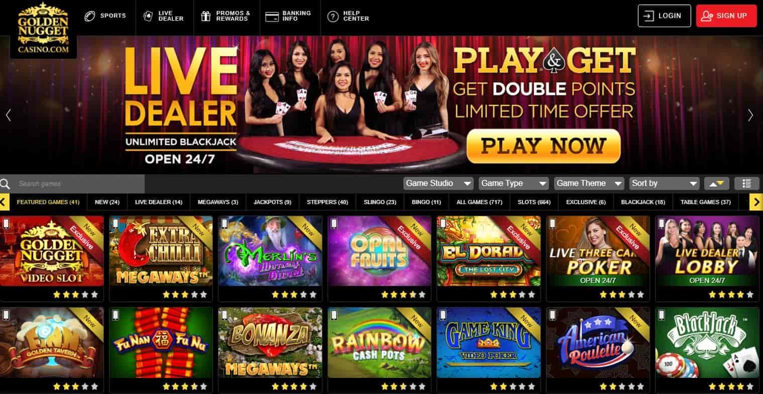 Golden Nugget Online Casino Customer Service Number